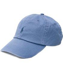 ralph lauren boné com logo - azul