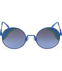 53mm metal round sunglasses
