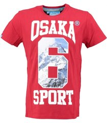 superdry stevig rood t-shirt