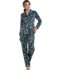 dames pyjama satijn pastunette 25202-303-6-50