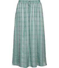 briza long skirt 10866 lång kjol grön samsøe samsøe
