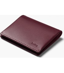 bellroy slim sleeve bi-fold wallet | wine  | wssb-win