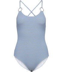 ebro baddräkt badkläder blå max mara leisure