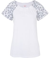 maglia con spalle scoperte (bianco) - john baner jeanswear