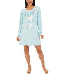 munki munki snoopy sleepshirt nightgown