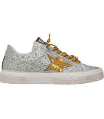 scarpe sneakers donna in pelle may