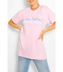 babygirl flame print t-shirt, pink