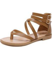 sandalias de mujer sandalias romanas de moda