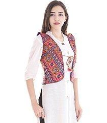 kutch embroidered shrug/navratri special gujarati koti jacket assorted colours