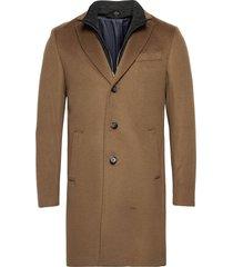cashmere coat - sultan tech yllerock rock beige sand