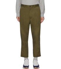 crop straight pants