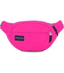 pochete jansport fifth avenue ultra pink