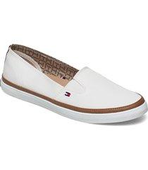 iconic kesha slip on loafers låga skor vit tommy hilfiger