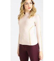 sweter marciano z ozdobnymi łańcuszkami