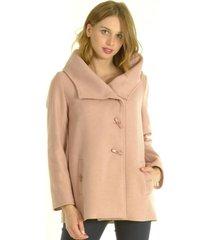 abrigo corto palo rosa bou's