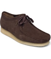 wallabee loafers låga skor brun clarks originals