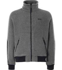 filson sherpa fleece jacket | charcoal | 20117928-chr