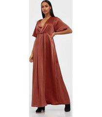 vila vifloating s/s ancle dress/dc/su maxiklänningar