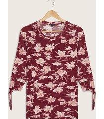 blusa vinotinto-rosa patprimo