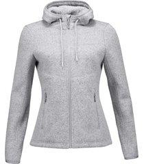 chaqueta sense blend-pro melange gris claro lippi