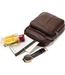 spalla casual multifunzionale da lavoro borsa vita borsa crossbody borsa per uomo