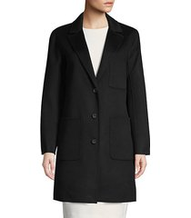 allegra wool-blend coat