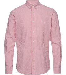 lucas button down shirt overhemd casual roze morris