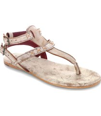 women's bed stu moon thong sandal, size 10 m - ivory