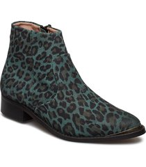 electric w suede sho shoes boots ankle boots ankle boot - flat grön sneaky steve