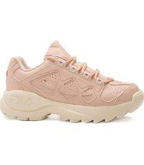 zapatilla rosa fila styling