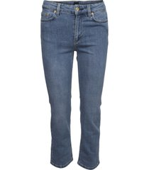 filippa k stella gewassen jeans mid blue
