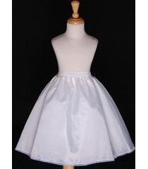 wedding flower girl dress petticoat slip underskirt crinoline s m l