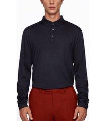 boss men's person 07 regular-fit polo shirt