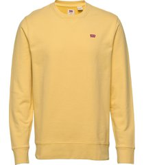 new original crew dusky citron sweat-shirt trui geel levi´s men