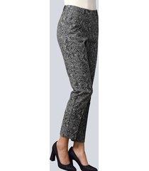 broek alba moda antraciet
