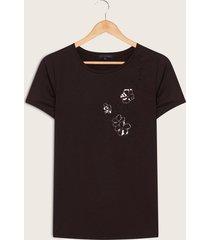 camiseta negro negro s