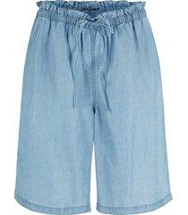 bermuda di jeans in tencel™ lyocell (blu) - john baner jeanswear