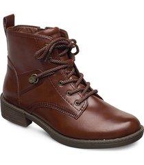 woms boots shoes boots ankle boots ankle boot - flat brun tamaris