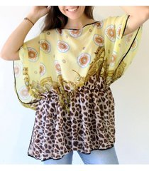 blusa amarilla almacén de paris
