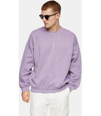 mens purple lilac vertical rome sweatshirt