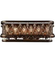 closeout! cwi lighting tieda 6 light wall sconce