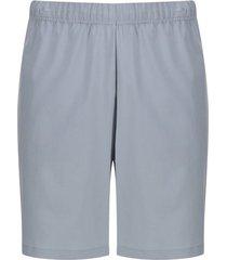 pantaloneta unicolor facol color gris, talla xs