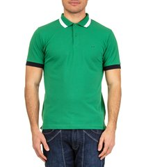 sun68 cotton piquè polo shirt