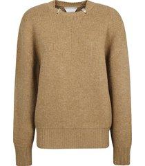 bottega veneta double face shetland sweater