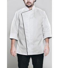 chaqueta chef no.1 blanca all in chef chc1