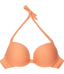 bikini estilo sostén clásico naranja samia