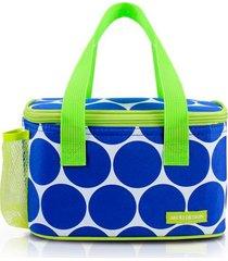 bolsa necessaire térmica jacki design marmita com divisórias azul