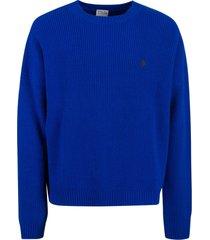 marcelo burlon mbcm wool regular crewneck sweater
