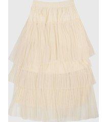 falda blanco hueso  paris district