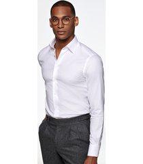 men's suitsupply traveler classic fit dress shirt, size 14.5r - white